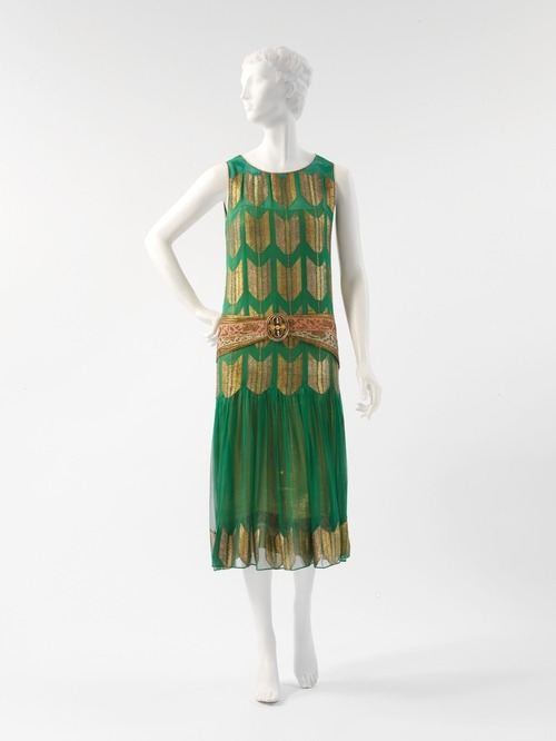 "Poiret ""Arrow of Gold"" evening dress, 1924/25 From the Metropolitan Museum of Art"