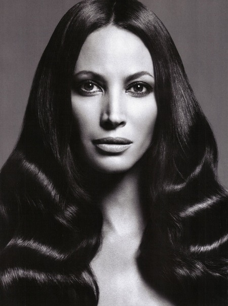 Christy Turlington Vogue Italia (july 2009) Photographed by Mario Sorrenti