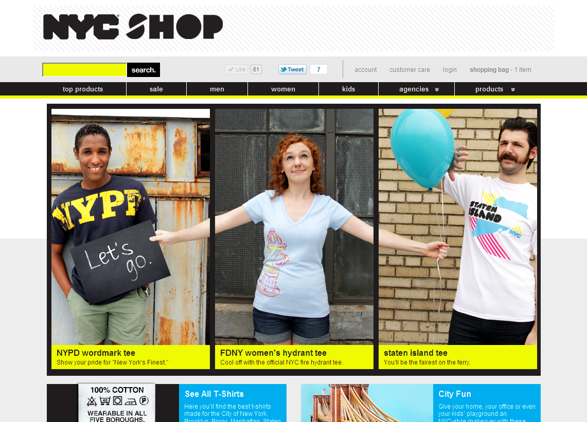 I launched NYC Shop today. Photography, design and development is by me. I hope you guys like it.