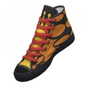 Venture Bros. Monarch Hi Top Shoes. Available in Mens and Womens sizes. Follow Much Needed Merch on Tumblr and or Facebook (10% off code) Back To School Sale: Buy 3 or more t shirts get 15% off your order!