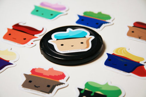 bakerhi:  My etsy shop is now up and running! Stickers for everyone (: