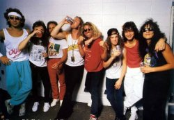 Metallica and Van Halen