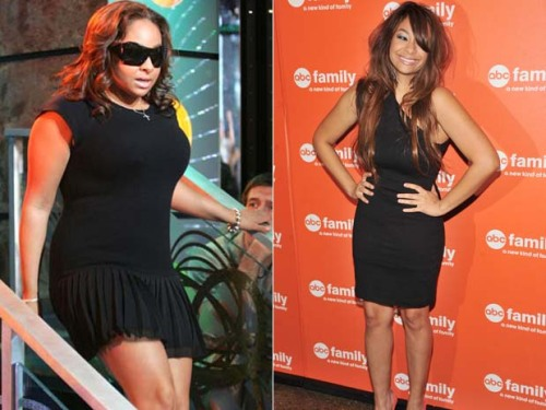 the-absolute-best-gifs:  Reporter:  What made you lose 37 pounds? Raven Symone': The pressure of society. Finally a celebrity who says the real reason