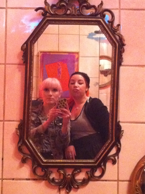 The girls bathrooms in revolver are my favourite! Vintage gold mirrors, Mexican art work!