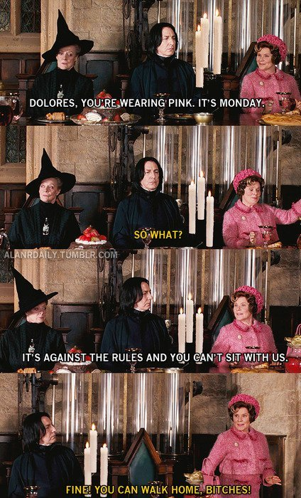 Mean Girls is always appropriate!