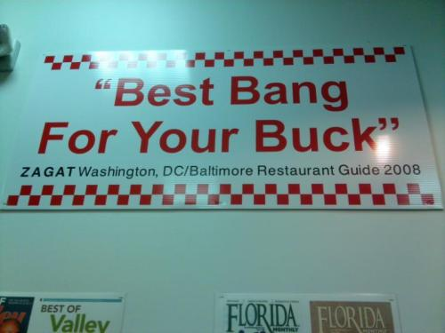 ivonnejewel:  Five Guys- they guarantee satisfaction ;D
