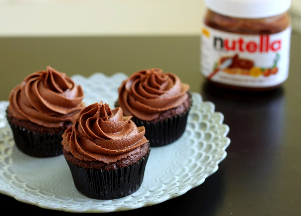 fightoffyourdemons-:  (via Chocolate Nutella Cupcakes | 52 Kitchen Adventures) oof.