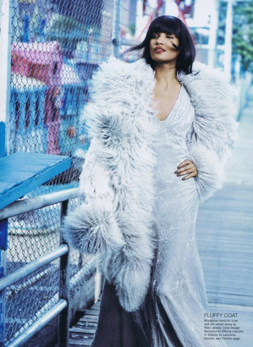 somethingvain:  Sessilee Lopez by Norman Jean Roy for Allure