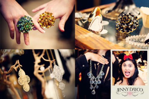 Day 3 of the blog challenge!  I interviewed Jenny from Jenny Dayco Jewelry.  She's got some gorgeous pieces and we're hosting a contest giveaway.  I'm so excited to post it. Check out the new blog post!