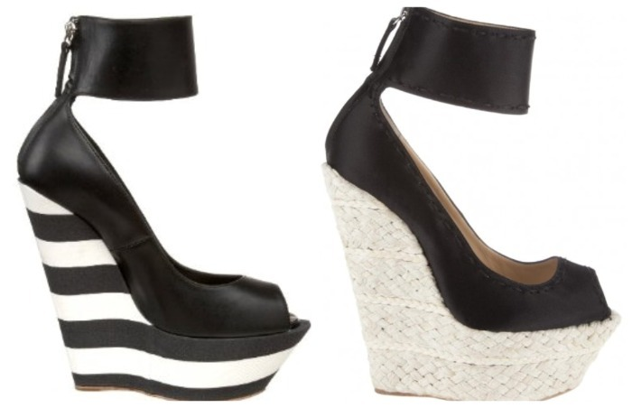 Celebrity showdown: Giuseppe Zanotti Jasmine Wedge Who wore it best?