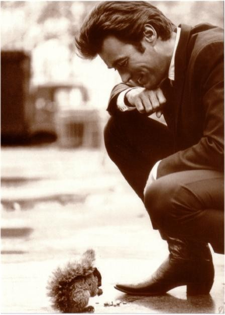 Clint Eastwood and.. squirrel!
