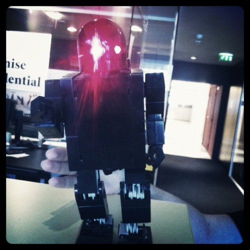 Robot Attack (Taken with instagram)
