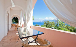 Stay in the beautiful island home of one of the protagonists of Capri's Dolce Vita, complete with gorgeous gardens and sweeping terraces overlooking the Bay of Marina Grande: Villa Bismarck, Capri.