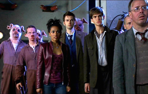 Andrew Garfield was in doctor who?!