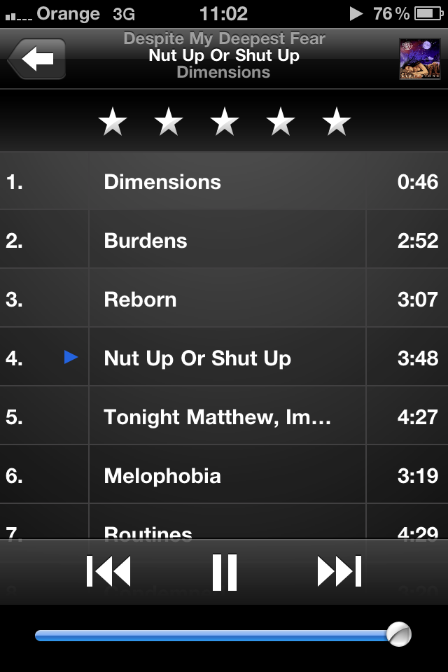 Had dimensions playing on the way to work and nut up or shut up has been stuck in my head since!! Honestly even if your a beiber fag, check em out hopefully they'll convert you :DD