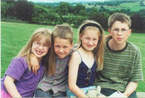 Life in the 1990's. All 4 of us have tumblr now… Hazel, Matt, myself and Tom. A family trip to Forbidden Corner as far as I remember.