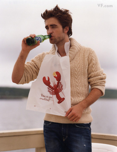 r.patz + lobster + preppy sweater