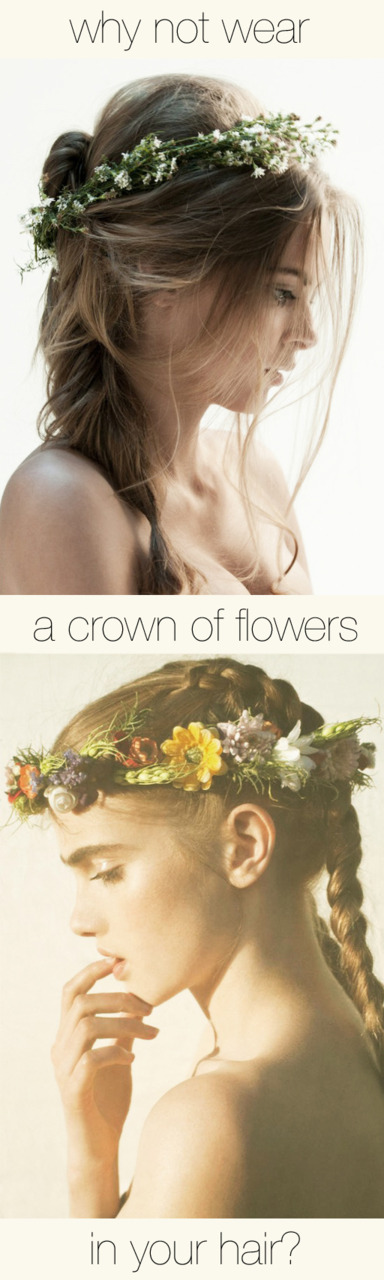 Flower Crown The Beauty Department