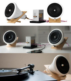 These speakers are beautiful.