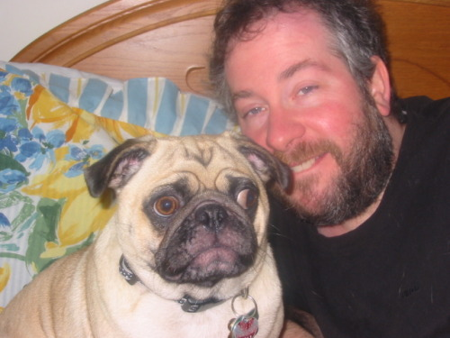 "Photo of ""Mugsy"" and me by Emily Mitchell"