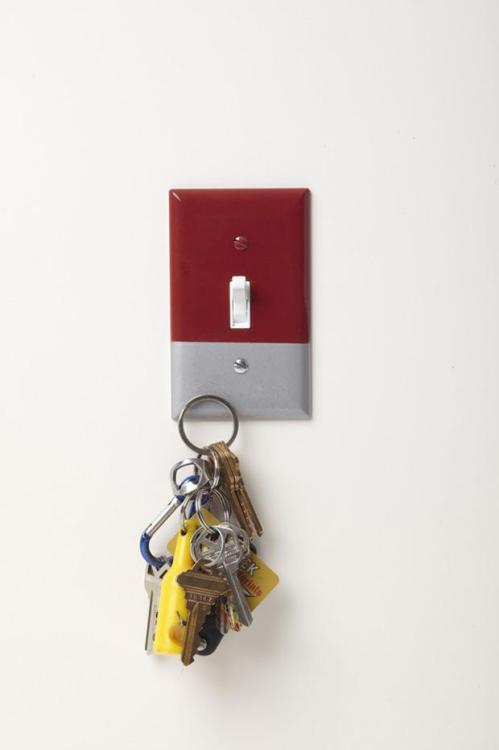 High-Powered Magnetic Light Switch Cover Key Holder