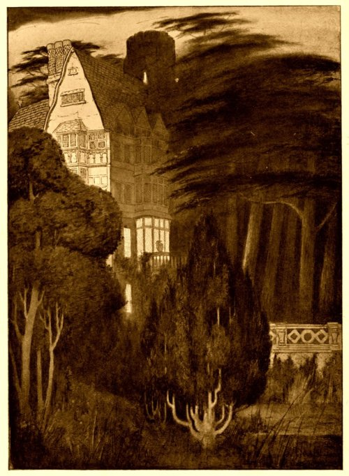 "greengerg:  ""The Ghosts, Oneleigh"" by Sidney Sime (1908)"