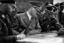 Heinrich Himmler and Adolf Hitler