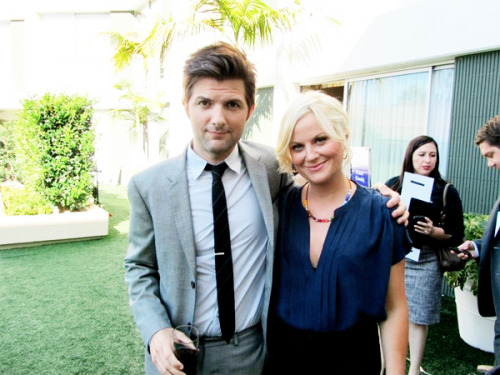 @Citytv_PR: We caught up with @mradamscott & #AmyPoehler down in LA at the #TCAs! #ParksandRecreation premieres Sept. 22nd. http://yfrog.com/gzwclhkj