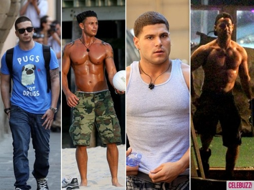 The ripped cast of Jersey Shore returns!! Which shore hunk are you excited to see (and drool over): Pauly D, The Situation, Vinny or Ronnie?