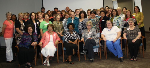 Grant Participants at the July orientation meeting in Austin.