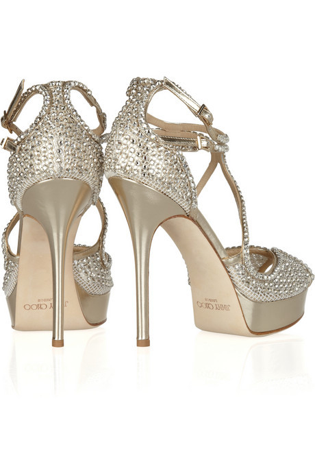 Jimmy Choo Fairview Embellished Leather Sandals. - Who loves me enough to get me these babies? I will be yours forever :)
