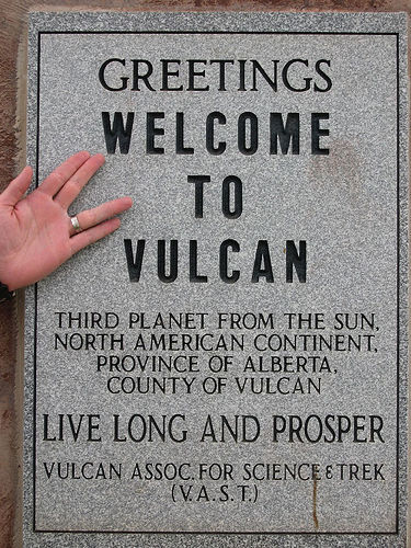 I want to move here! Vulcan, Alberta, Canada.