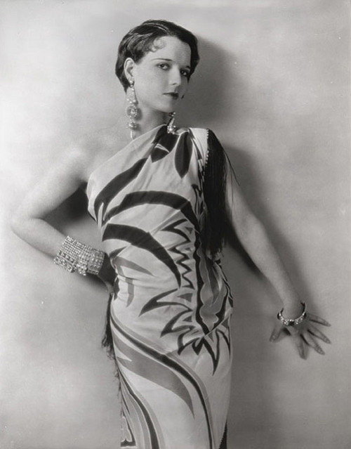 fleetsparrow:  amoderndandy:  sydneyflapper:  judywald:  Louise Brooks - atypical hairstyle and unusual dress. 1920's   The dress is interesting because it's actually a shawl draped to look like a dress…there was a bit of a fad for this in the 1920s, usually with the large Chinese export shawls (this one is quite lovely in its abstract patterns). There are stories of starlets going to parties wearing nothing but a shawl and some smashing heels. There were asymetrical gowns in the 1920s off one shoulder, but they weren't common. I have a vague idea that this still was used as one of the photos of Lulu that the Egyptian is shown in Pandora's Box. I'm about due to watch the movie again - must keep an eye out for that scene!  I love her hair in this picture!  Everything is lovely.