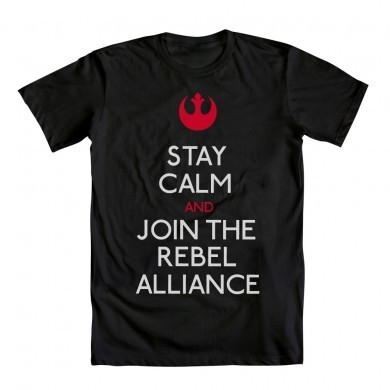 Stay calm and join the Rebel Alliance…