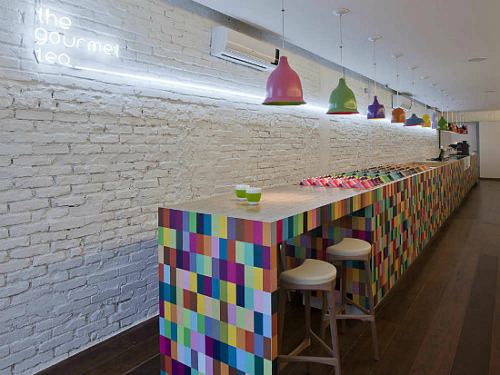 The Gourmet Tea, Colourful Lounge & Store by Alan Chu