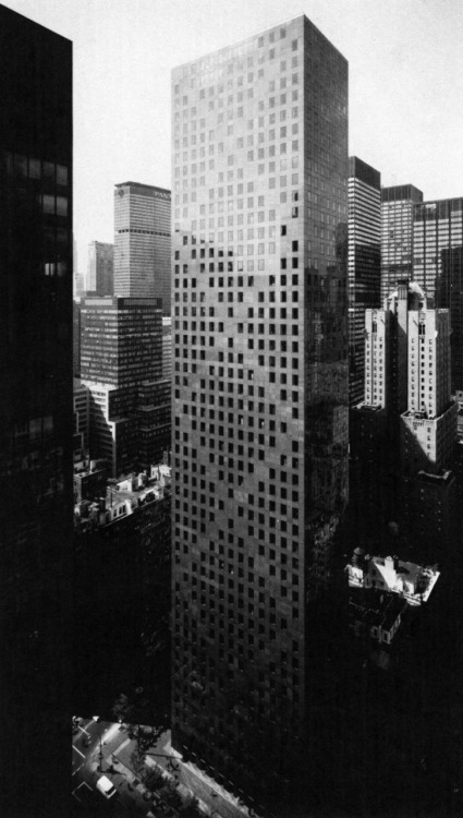 SOM, Skidmore, Owings, and Merrill, 780 Third Avenue, New York, New York, 1983