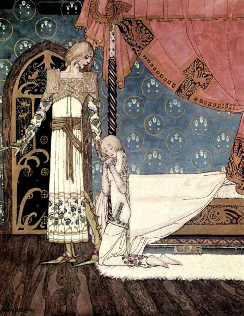 "fairytalemood:   ""East of the Sun and West of the Moon"" by Kay Nielsen (1914)"