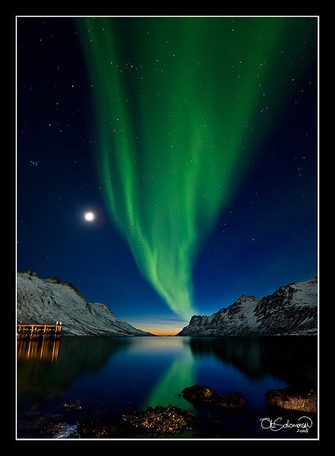 The Sun, The Moon and The Northern Lights by Ole C. Salomonsen (sorry folks for being inactive, on Flickr.