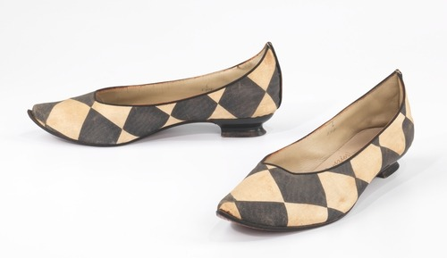 Claire McCardell shoes ca. 1953 via The Costume Institute of the Metropolitan Museum of Art