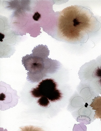 (via floral watercolor : Luli Sánchez)