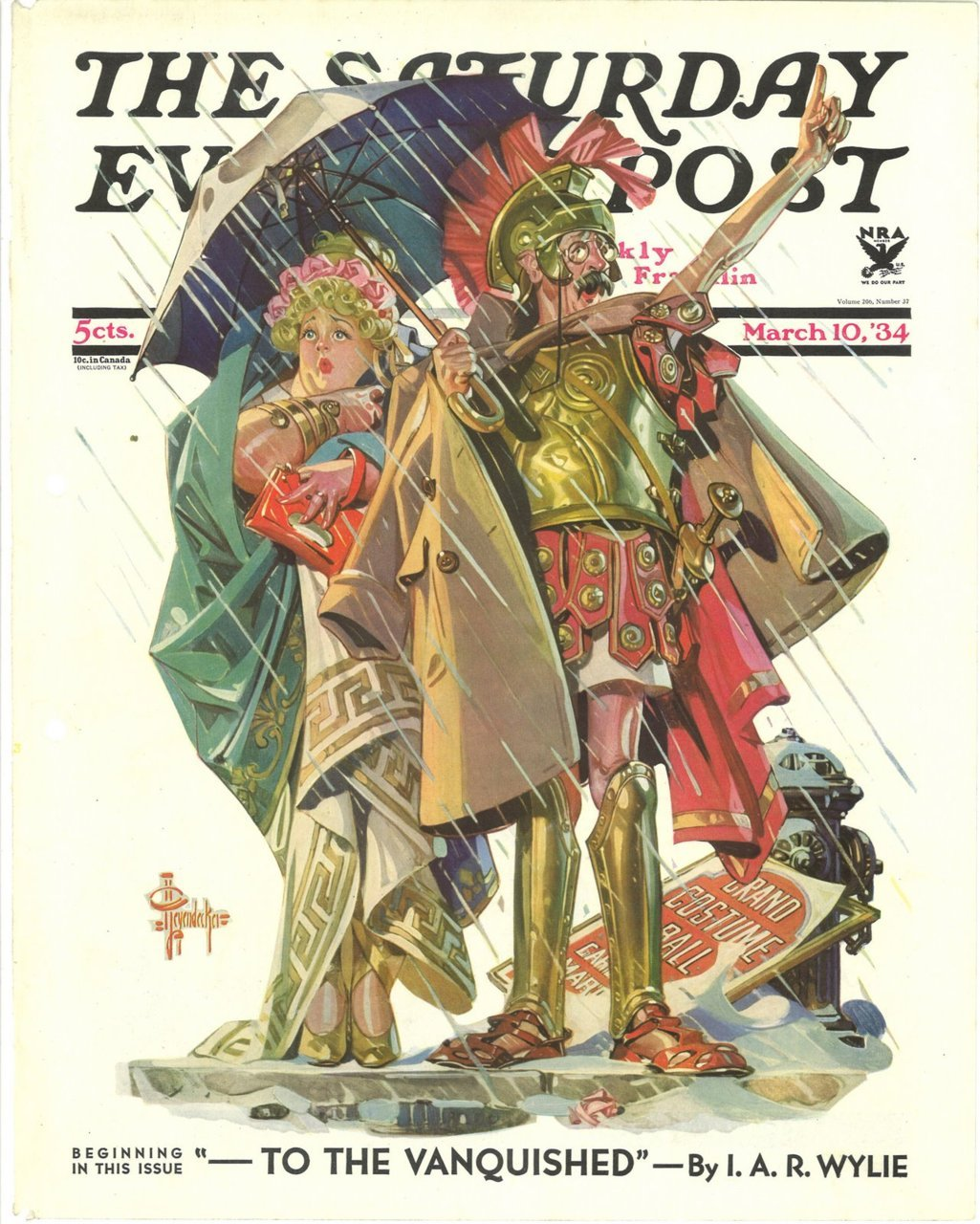 skysugar:  J.C. Leyendecker for The Saturday Evening Post
