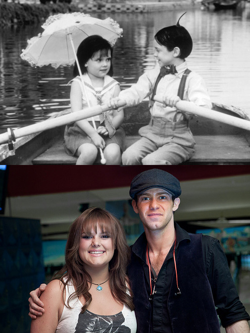 10knotes:  misslesliecakes: Darla & Alfalfa! Submitted by dayanatuna Follow this blog, you will love it on your dashboard