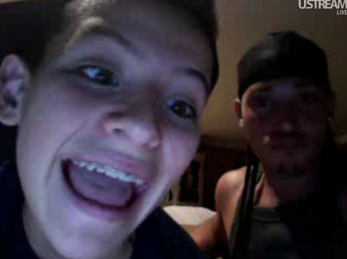 Pic of Vinny on his Ustream #1