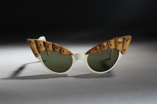 1950s Oliver Goldsmith sunglasses via The Victoria & Albert Museum