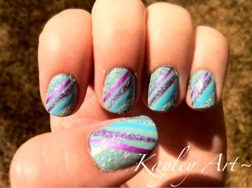 China Glaze- For Audrey A few striper polishes 