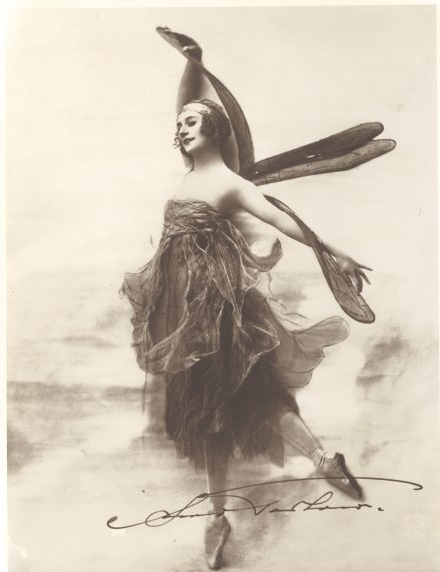 maudelynn:  and the last one for today; Anna Pavlova as a Dragonfly c.1915