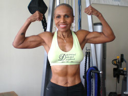 fitinheels:  Ernestine Shepherd at 74 years old. It's never too late to become what you might have been.   Now this is inspiration!