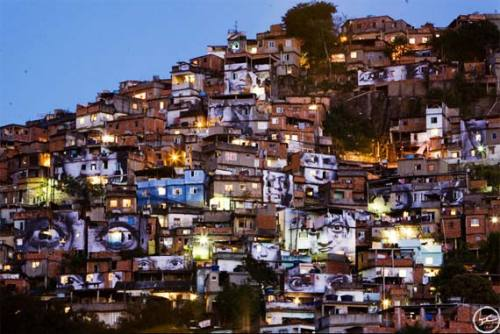 The favela view. Sight?