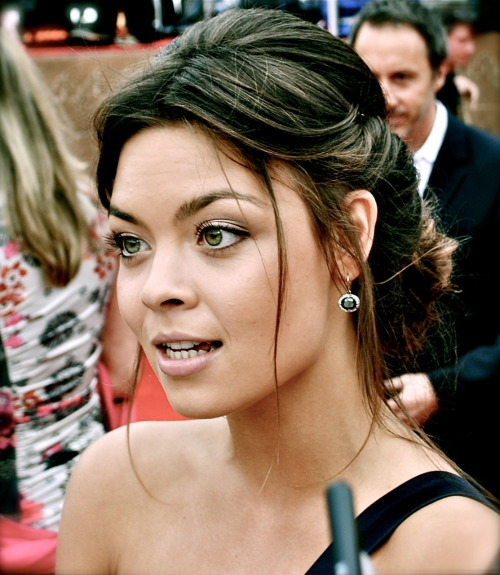 The beautiful Scarlett Byrne (Pansy Parkinson) my photo from the Harry Potter and the Deathly Hallows: Part 2 world premiere in London!
