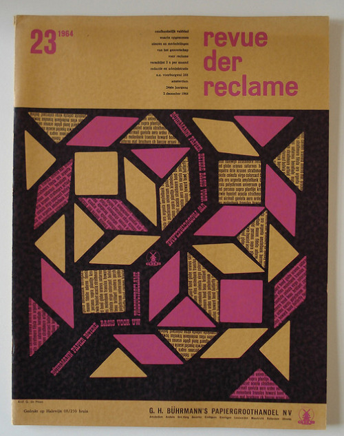 Revue der Reclame 1964 (view set via monowolf)
